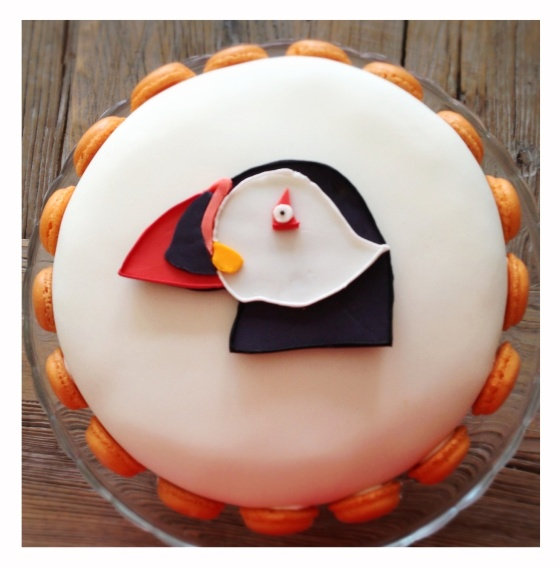 Puffin Birthdaycake